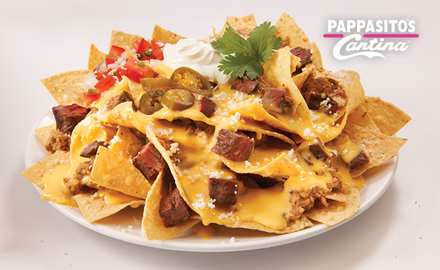 Chicken or Beef Fajita Nachos